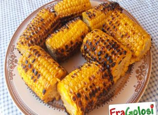 Pannocchie grigliate al Barbecue