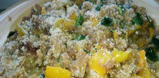 Peperoni con pangrattato in agrodolce Bimby
