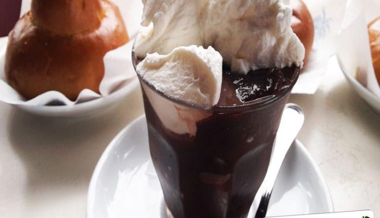 Granita Cioccolato con Panna