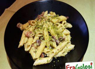 Pasta Speck e Pistacchi