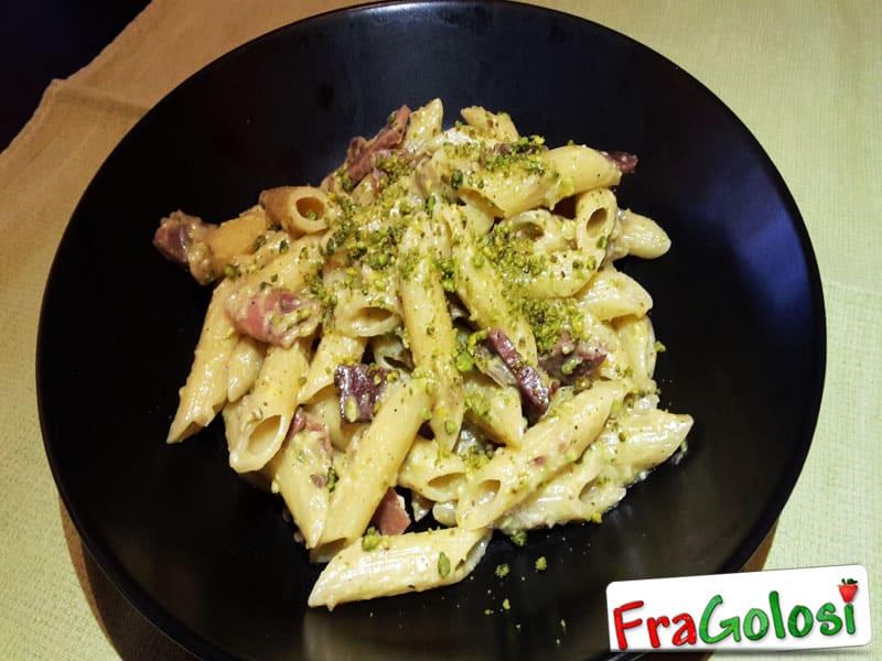 Pasta speck e pistacchio