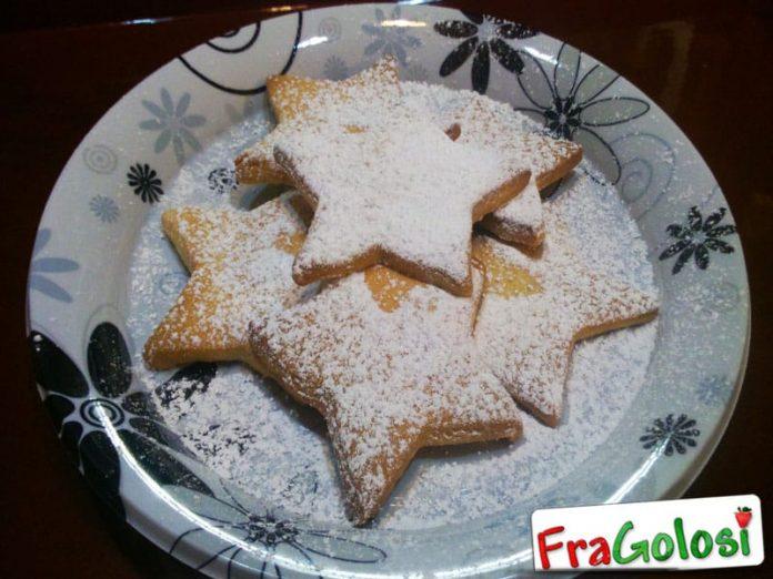 Stelle di Pasta Frolla Bimby