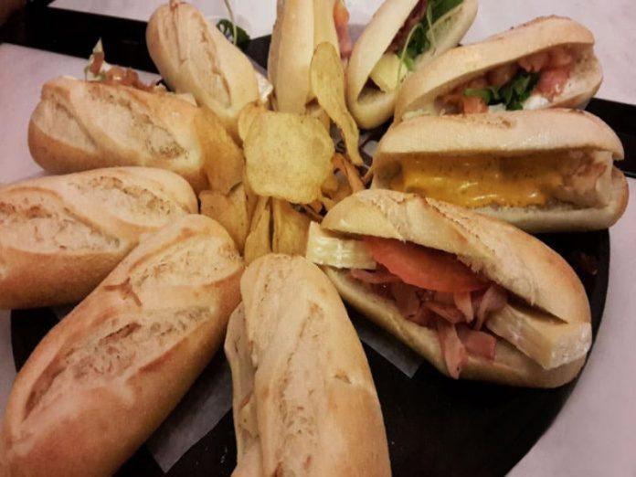 Tapas Stile Sandwich
