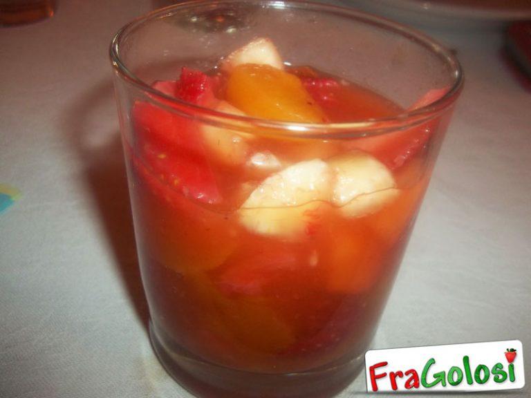 Macedonia di Frutta al Limoncello