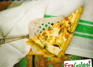 Quiche con Champignon e Zucchine