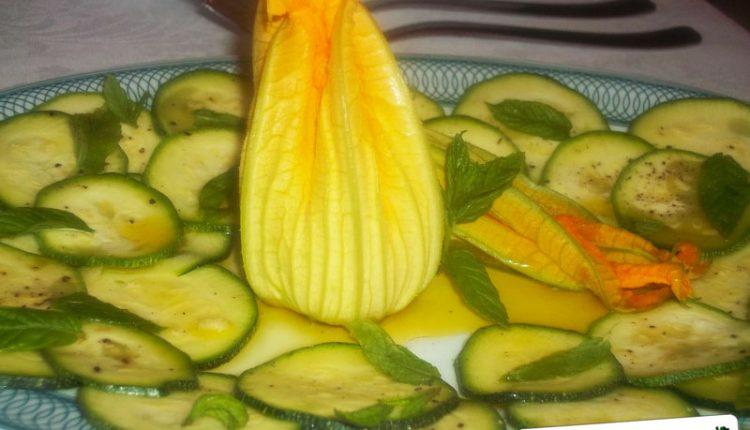 Zucchine Grigliate all'aceto