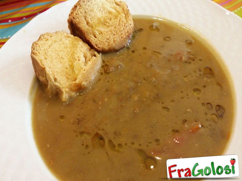 Zuppa di lenticchie Bimby
