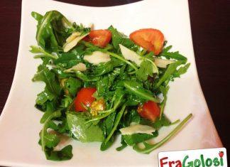 Insalata di Rucola, Pomodori e Scaglie di Parmigiano