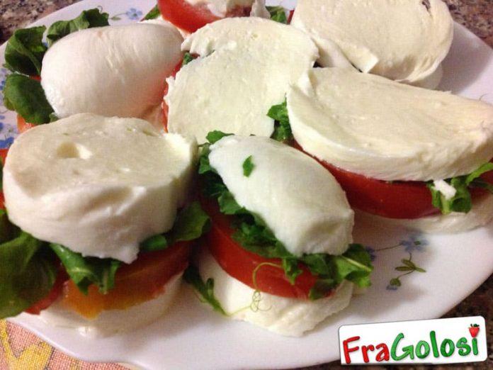 Sandwich di Mozzarella
