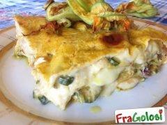 Lasagne con Fiori di Zucca