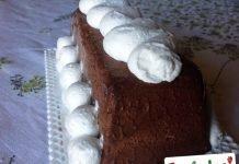 Semifreddo cioccolato con panna montata
