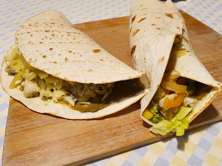 Differenze tra Burritos, Tacos e Enchiladas
