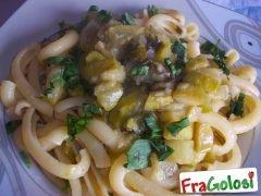 Pasta con le Zucchine Stufate