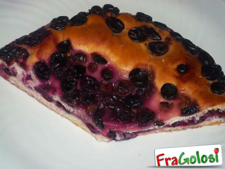 Schiacciata con l'uva (Ciaccia)