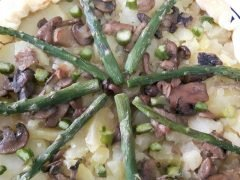 Torta Salata con Asparagi