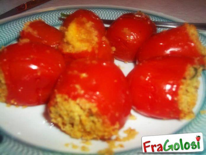 Pomodorini Ripieni al Formaggio
