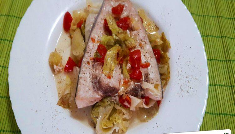 Pesce Spada con Verdure