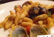Pasta con Polpa di Granchio e Vongole