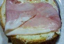 Bruschettona con Gorgonzola e Prosciutto Cotto