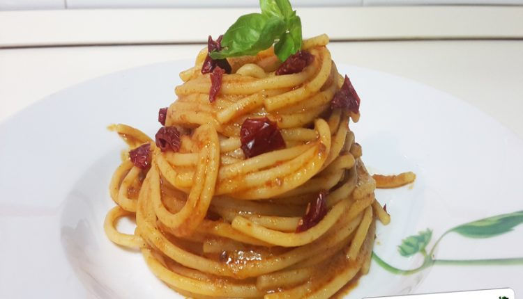 Pasta al Pesto Siciliano