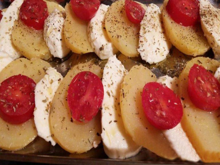 Caprese con Patate