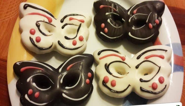 Biscotti Maschere di Carnevale