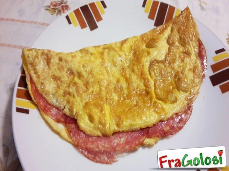 Omelette al Salame
