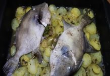 Pesce Balestra al Forno