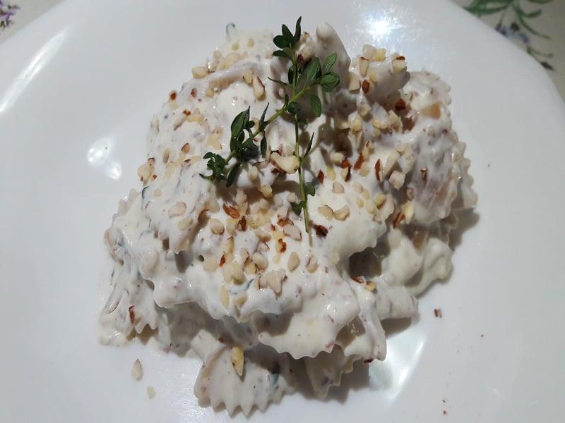 Pasta con Crema di Ricotta