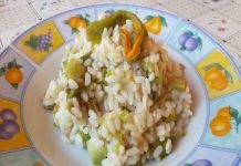 Risotto Zucchine e Fiori di Zucca