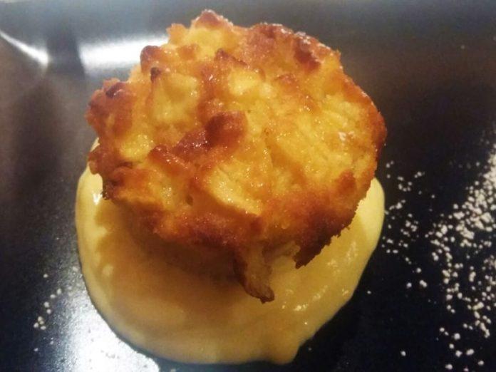 Torta di Mele con Crema