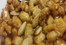 Bocconcini di Pollo alle Mandorle