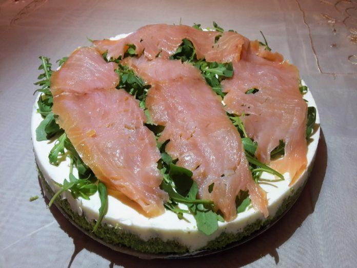 Cheesecake al Salmone Bimby