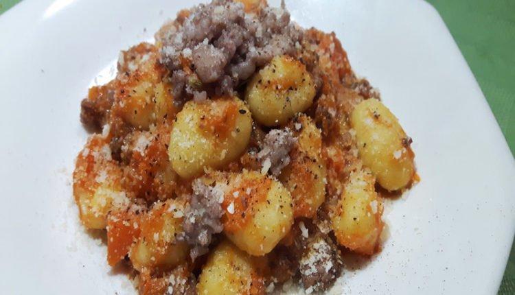 Gnocchi Zucca e Salsiccia