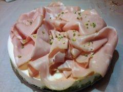 Cheesecake Salata Mortadella e Pistacchi Bimby