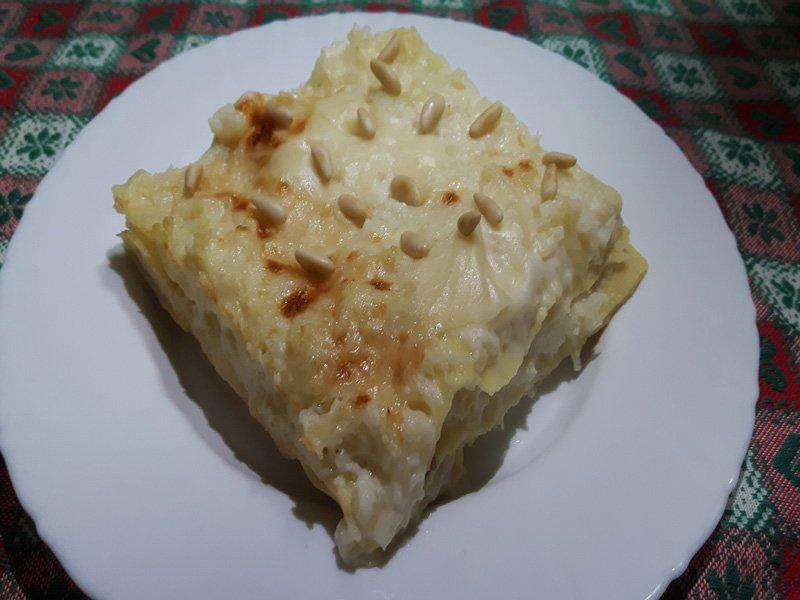 Lasagne con Cavolfiore