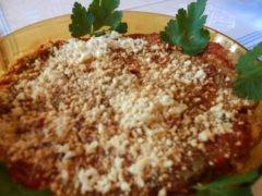 Parmigiana di Zucchine Spinose