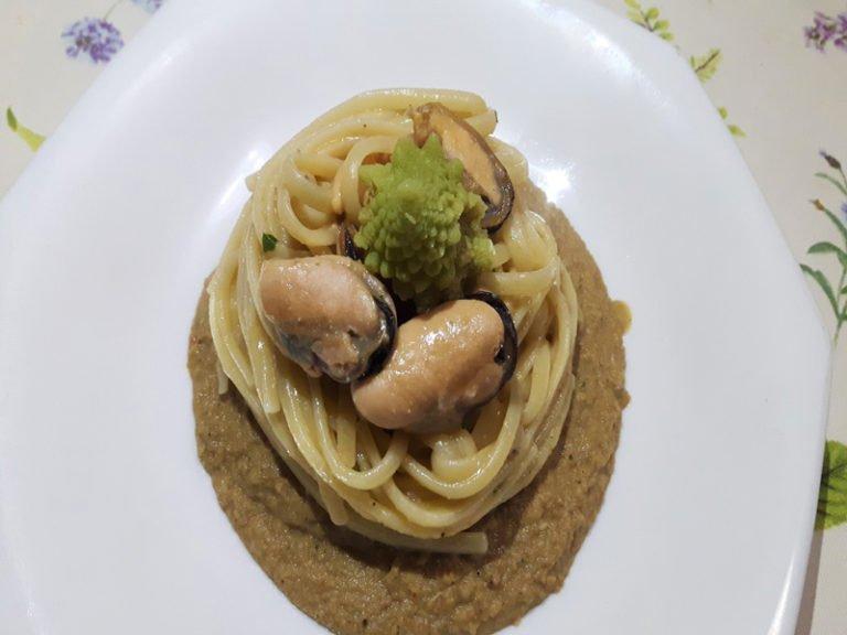 Pasta Cozze e Broccoli