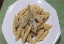 Pasta con Taleggio e Carciofi