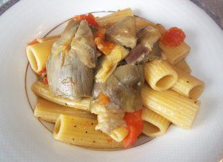 Pasta Carciofi e Pomodorini