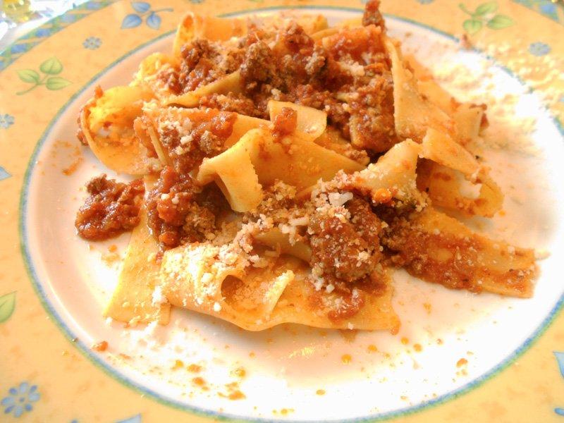 Pasta con Ragù di Anatra