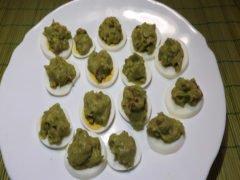 Uova Sode con Guacamole