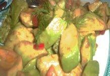 Insalata di Avocado e Pomodori