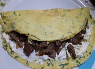 Omelette Funghi e Formaggio