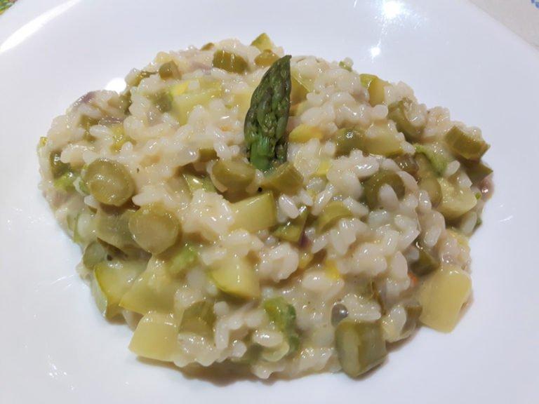 Risotto Asparagi e Zucchine