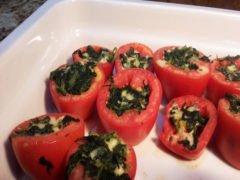 Pomodori Ripieni di Spinaci