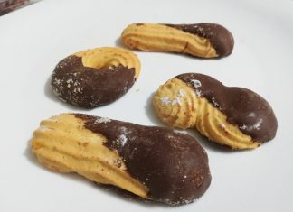 Biscotti pasta frolla e cioccolato
