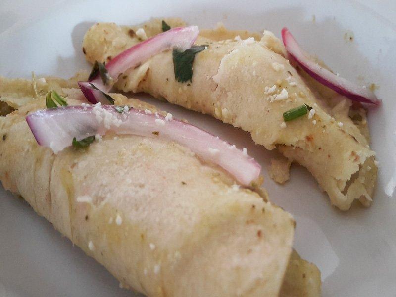 Burritos con Prosciutto e Formaggio
