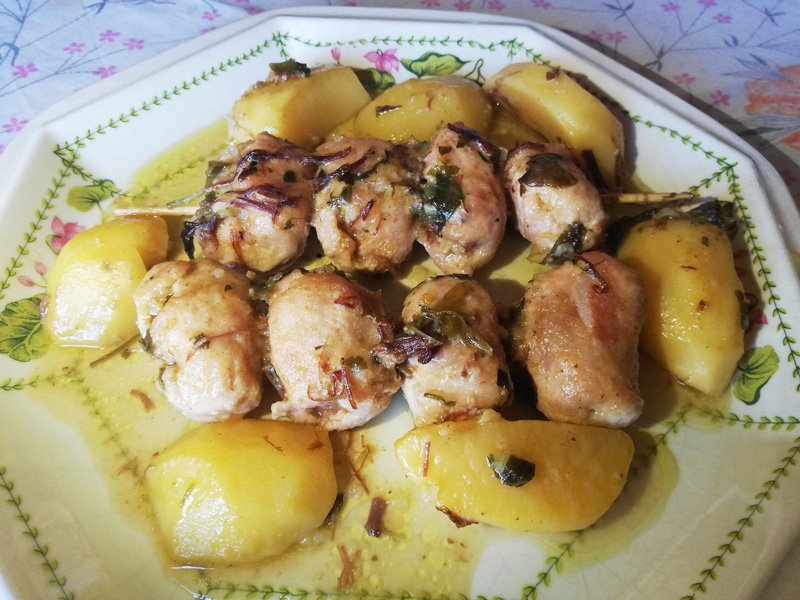 Involtini di Pollo in Umido