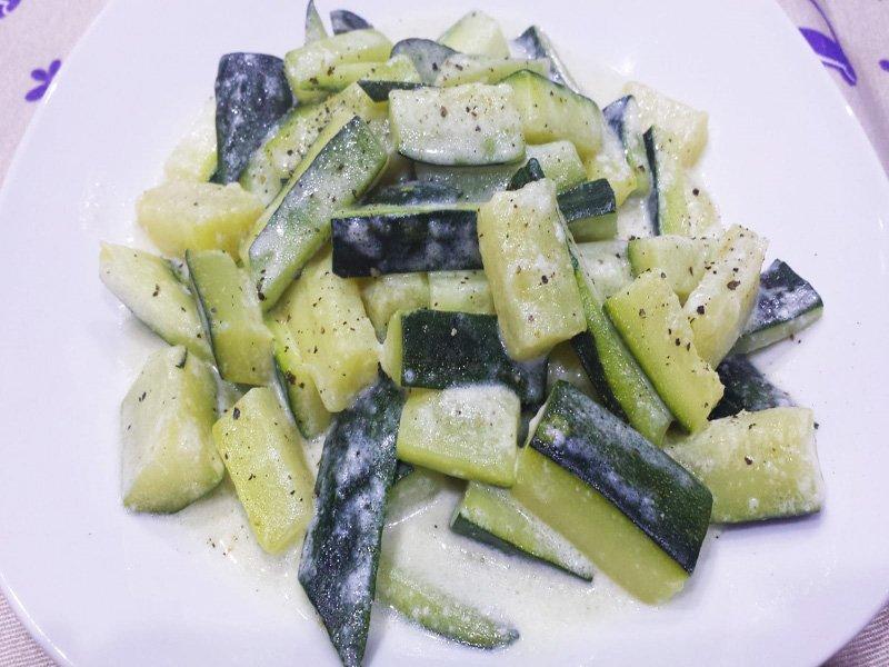 Zucchine al Latte di Cocco
